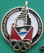 LONDON '12 Olympic Antigua & Barbuda NOC Internal team - delegation pin