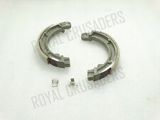 "NEW VESPA 8"" WHEEL FRONT BRAKE SHOE KIT WITH CLIPS VBB/VBA/BAJAJ #VP462(CODE8445"