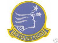 US NAVY USN  NAVAL AIR STATION NAS KEFLAVIK DECAL