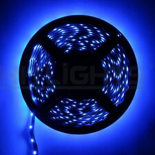 Auto / Home / Outdoor Blue LED Flexible Light Strip ,Waterproof 5M 16.4Feet NEW