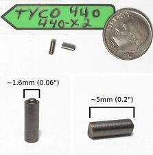 2 TYCO 440 440-X2 Slot Car Chassis Motor CARBON BRUSHES