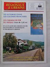 Chemins de fer régionaux et urbains 281 2000 MADAGASCAR CONGO TUNISIE HEDJAZ
