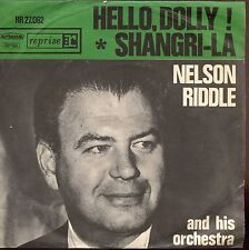 7inch NELSON RIDDLE hello dolly HOLLAND +PS EX