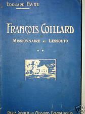 FRANCOIS COILLARD MISSIONNAIRE AU LESSOUTO Afrique