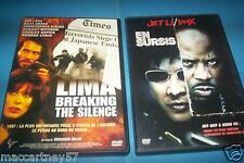 LOT 2 DVD EN SURSIS avec jet li + LIMA BREAKING THE SILENCE prise d'otage