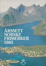 Norway, 1985 Year Set complete in Norway Post folder, fresh, Vf