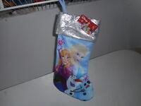 Disney Frozen( Elsa, Anna & Olaf) Christmas Stocking - NWT
