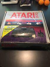 Atari 2600 Darth Vader Black Game Console With Box And 19 Games