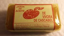RATTLESNAKE SOAP JABON DE ACEITE DE VIBORA DE CASCABEL  MADE IN MEXICO