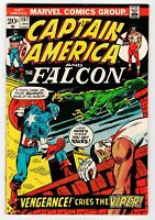Marvel CAPTAIN AMERICA AND THE FALCON #157 - FN Jan 1973 Vintage Comic