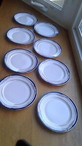 "8 Lenox Caitlin Fine Bone China Bread & Butter Plates 6 1/2""  Debut Collection"