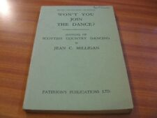 WON'T YOU JOIN THE DANCE REVISED ENLARGED EDITION SCOTTISH COUNTRY DANCING