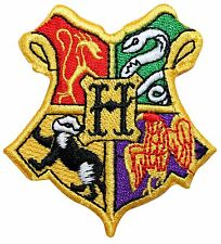 Hogwarts School of Witchcraft and Wizardry Coat of Arms Iron On Applique Patch