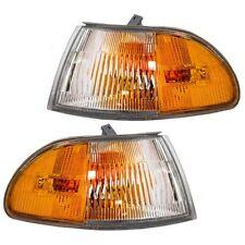 1992 1993 1994 1995 HONDA CIVIC SEDAN CORNER LAMP LIGHT PAIR RIGHT & LEFT SET