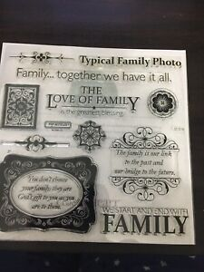 Close To My Heart Stamps - D1506 Family Love - Everyday Life