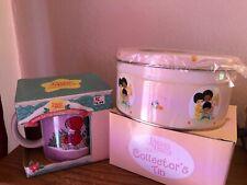 """Precious Moments """"The Wonder Of Christmas"""" Vintage Coffee Mug & Collector Tin."""