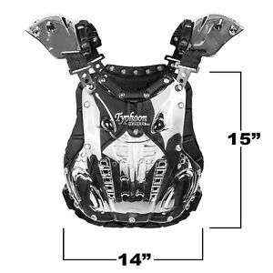 Adult Chest Protector Deflector Motocross ATV Dirtbike 100 lbs and up