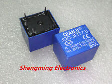 10PCS 5V Relays JQC-3F(T73) Mini SPDT Power Relay 5VDC PCB Type 5pins