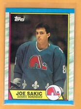 1989-90 Topps Joe Sakic Rookie #113 Quebec Nordiques RC