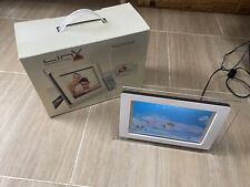 LinX Photo8W 8 inch Digital Photo Frame. Gd Working Condition. See Pics/descrip