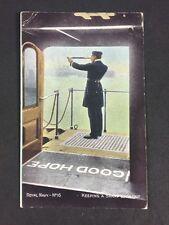 Vintage PC: Military: #M285: Royal Navy: Keeping. Sharp Lookout: Kelkel: 1909