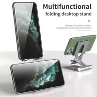 Universal Aluminum Phone Desk Table Tablet Stand Desktop Holder For Cell Phone