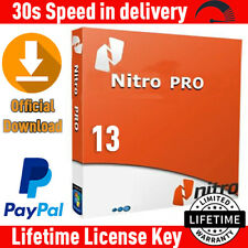 Nitro Pro 13 PDF ✔️ Viewer, Creator, Editor ⚡Genuine License Key 💯 FULL VERSION