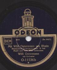 Willi Ostermann aus Köln : Mit Willi Ostermann am Rhein