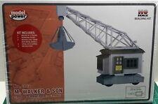 HO Scale Model Power 'M. Walker & Son Sand & Gravel Crane' KIT #303