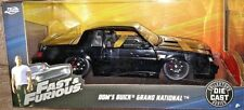 JADA 2018 FAST & FURIOUS 1/24 DIE CAST DOM'S BLACK BUICK GRAND NATIONAL NEW HTF!