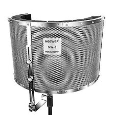 Neewer Microphone Isolation Shield Absorber Filter Vocal Booth With Lightweight