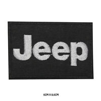 Jeep Racing Car Brand Embroidered Iron on Patch Sew On Badge