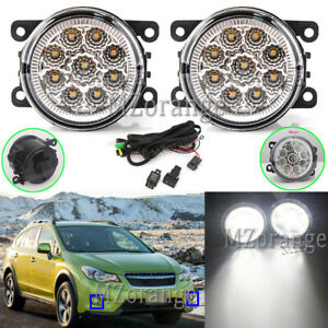 LED Fog Light Lamp Wire Harness Kit For jeep Cherokee Compass Renegade 2014-2019