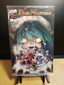 Duel Masters #1 Dreamwave Comic Book SEALED with P4/Y0 Japanese PROMO Card!