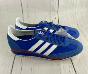 Adidas SL 72 Blue Valencia Shoe Hamburg Bern Jeans Retro Gazelle FY7689 Sz 12