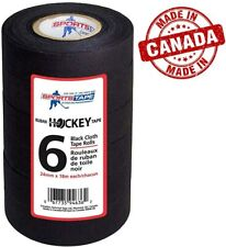"""New listing Hockey Tape Pro Grade for Sticks/Grips 1"""" Wide x 20 Yards Long Easy Tear Cloth"""