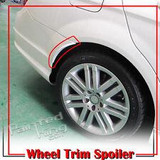 Painted Mercedes BENZ W204 4DR Sedan C-class Rear Wheel Trim Spoiler 08-13