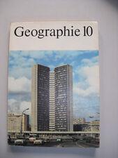 DDR Geographie Lehrbuch Klasse 10 Schulbuch 1978 Ökonomische Geographie