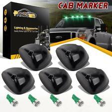 5xSmoke Cab Roof Marker Light+Green 161 5-5050-SMD LED for Dodge 2500/3500 94-98