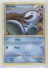 2010 Pokémon HeartGold & SoulSilver Base Set Spanish #88 Wooper Pokemon Card 2f4