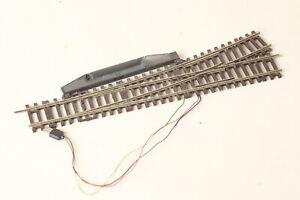 Roco H0 Lean Left Switch Electric Drive Track Braun (200132 67)