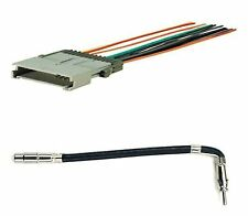 Wire Harness and Antenna Adapter Radio Install Stereo Combo Set select GM etc