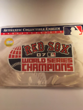 2007 Boston Red Sox World Series Champions Patch SEALED PLUS 12 FREE CARDS