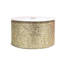 Princess Glitter Metallic Christmas Ribbon, 1-1/2-Inch, 4 Yards