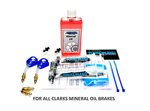 * TBS Hydraulic Brake Bleeding Kits for Clarks + Mineral Oil * For M2 & more.