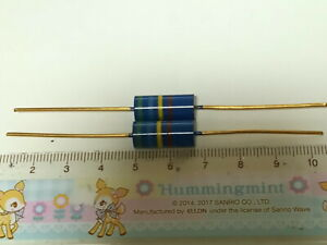2 X MADE IN JAPAN RIKEN OHM RMG 560000R 560K 1% 2W AUDIO GRADE CARBON RESISTOR