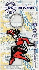 Harley Quinn - DC Comics - Gummi Schlüsselanhänger / rubber keychain
