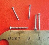 Gratuit Uk p/&p Vendeur Britannique. X30 PC 2 mm x 12 mm steel Self Tapping Pan Vis à tête