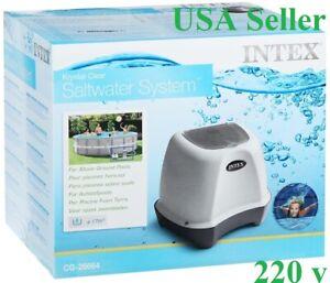 Krystal Clear Saltwater System Pool Chlorinator 4500GAL/17000L INTEX USA  220V