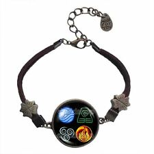 Avatar the last Airbender Bracelet Fire Water Earth Air Elements Legend of Korra